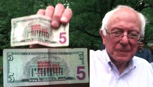 Bernie Sanders Stamp Stampede