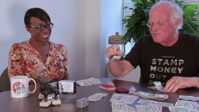 Ben and Jerry, (feat. Nina Turner) on Getting Money Out, Voters In