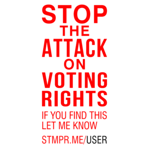 Stop the Attack on Voting Rights