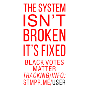 The System isn't Broken, it's Fixed + Black Votes Matter
