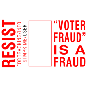 RESIST – 'Voter Fraud' is a Fraud